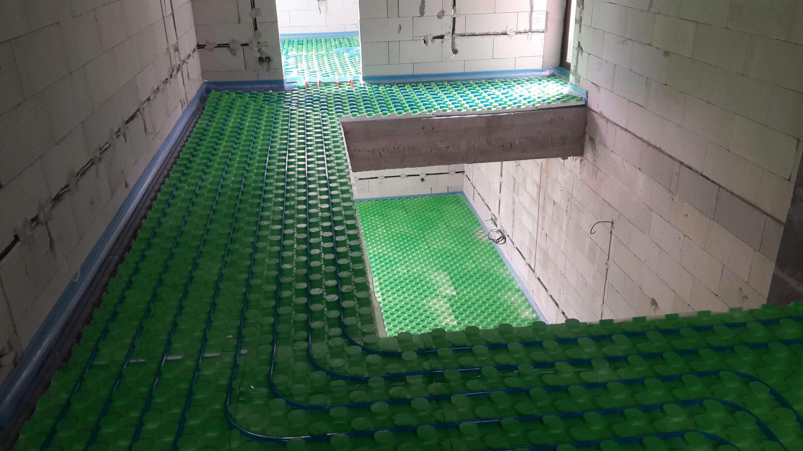 Montáž ústredného kúrenia a podlahových systémov